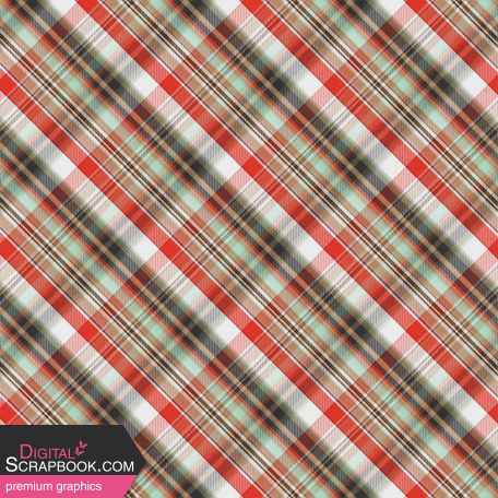 Camp Out : Lakeside Plaid Paper 08