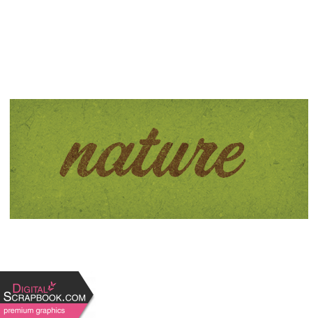 Camp Out Woods Word Art Nature