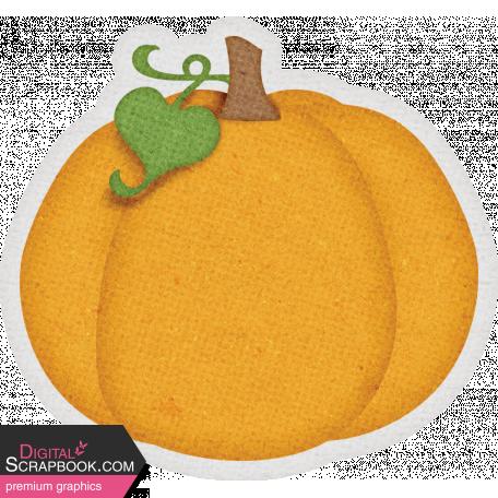 Sweet Autumn Pumpkin Sticker