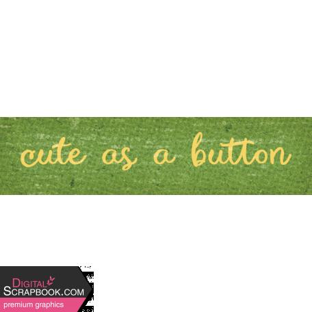 Sweet Autumn Button Word Art Snippet