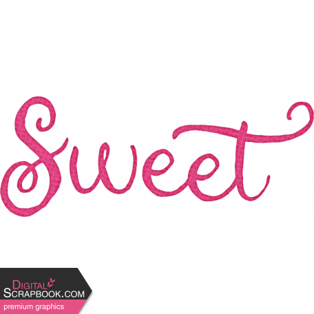 Sweet Autumn Sweet Word Art Alt