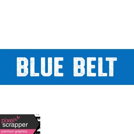 Karate Blue Belt