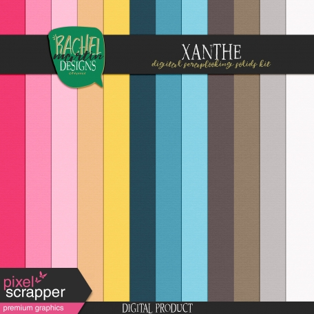 Xanthe Solid Paper Kit