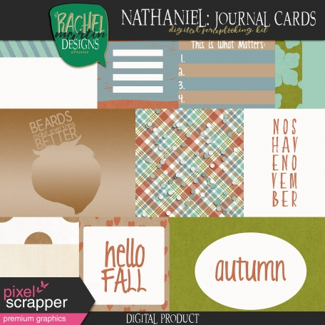 Nathaniel: Journal Cards