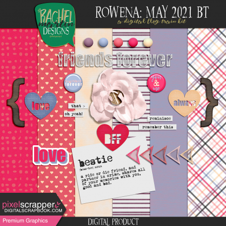 Rowena: May 2021 Blog Train