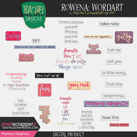 Rowena: Wordart