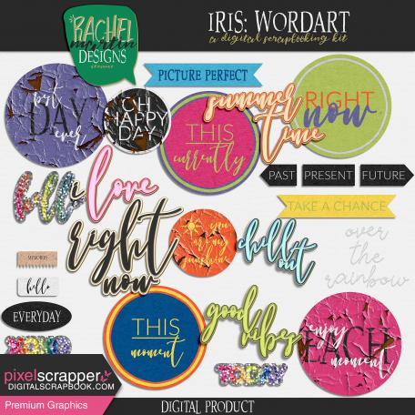 Iris: Wordart
