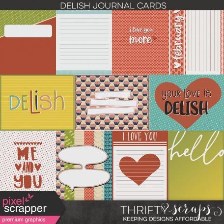 Delish Journal Cards