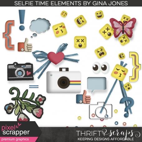 Selfie Time (elements)