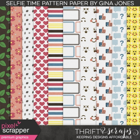 Selfie Time (pattern papers)