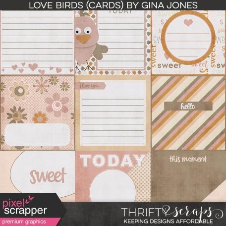 Love Birds (Journal Cards)