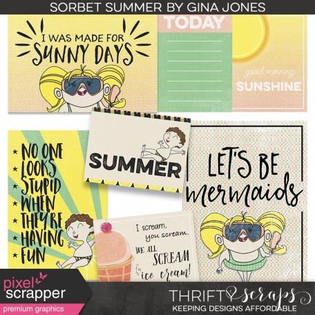 Sorbet Summer (journal cards)