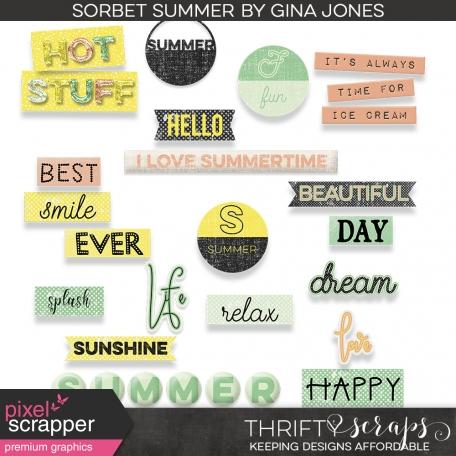 Sorbet Summer (words)