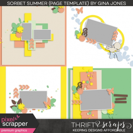 Sorbet Summer (page templates)
