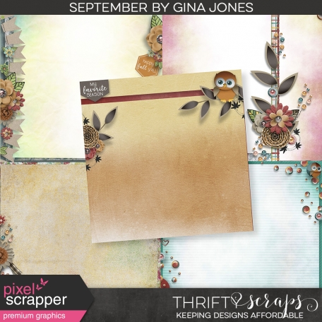 September Stacked Papers