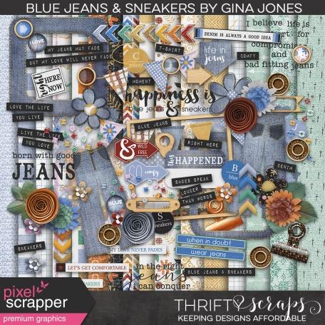 Blue Jeans & Sneakers (kit)