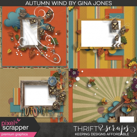 Autumn Wind Quick Pages
