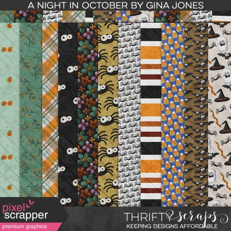 A Night in October Pattern Papers