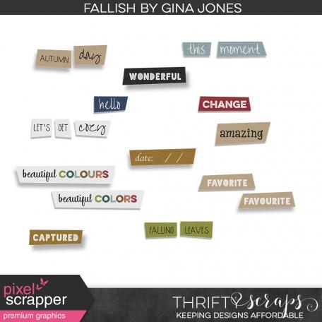 Fallish Snippets