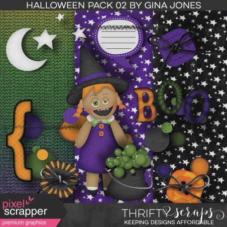 Halloween Mix and Match Pack 02