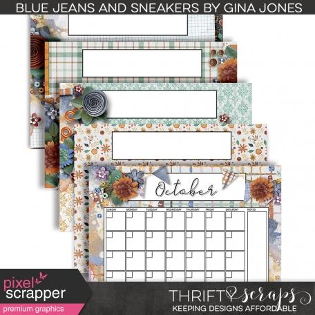 Blue Jeans & Sneakers Calendar