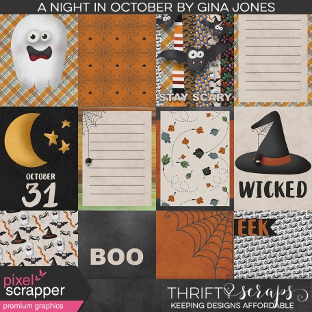A Night in October Journal Cards