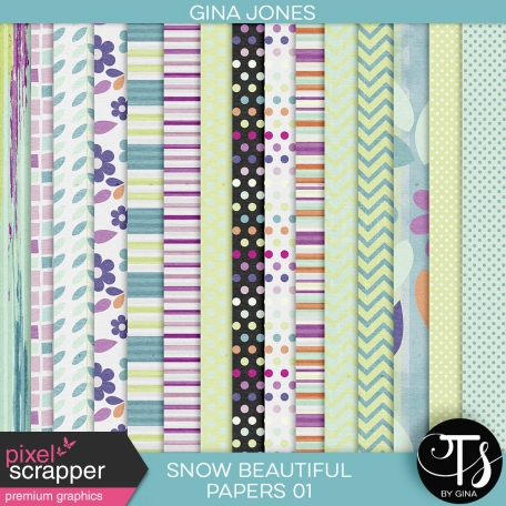 Snow Beautiful (paper pack 01)
