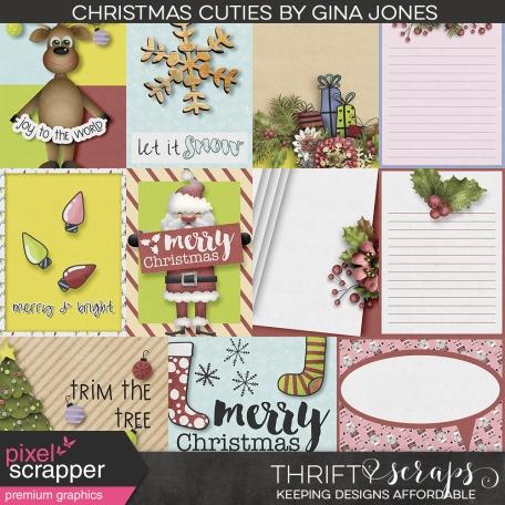Christmas Cuties Journal Cards