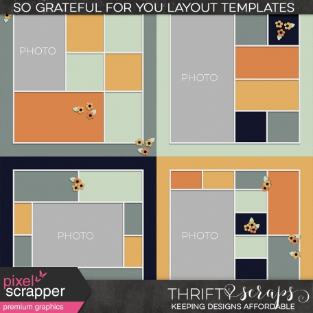 So Grateful For You (Layout Templates)