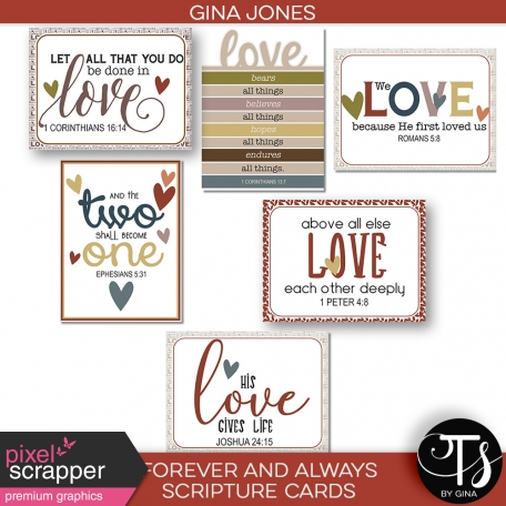 Forever and Always (scripture cards)