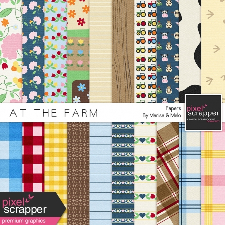 At The Farm Papers Kit