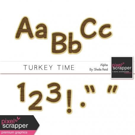 Turkey Time Alpha Kit