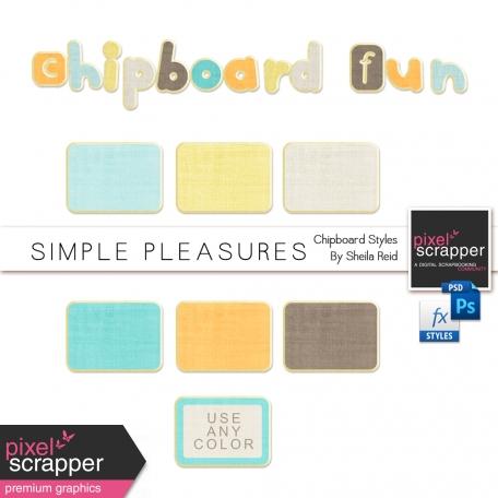 chipboard photoshop styles by sheila