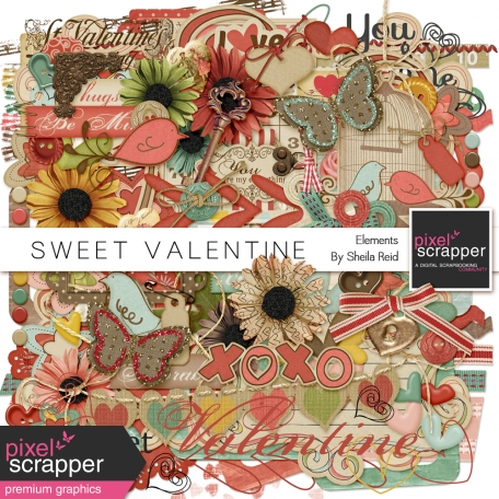 Sweet Valentine Elements Kit