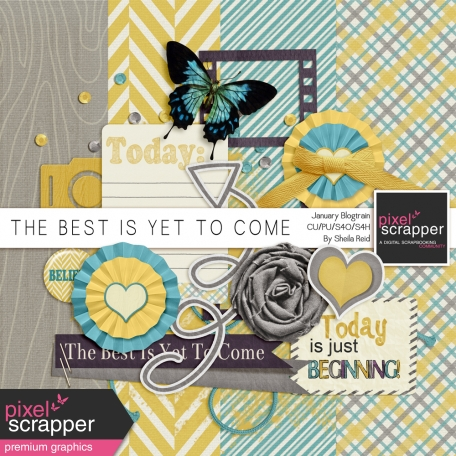 The Best Is Yet To Come-January 2014 Blogtrain Mini Kit