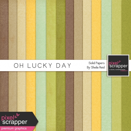 Oh Lucky Day Solid Papers Kit