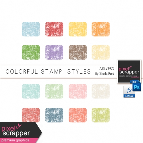 Colorful Stamp Styles