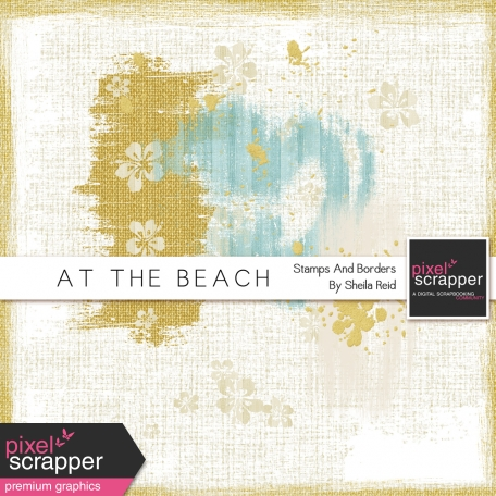 At The Beach Stamps And Borders Kit