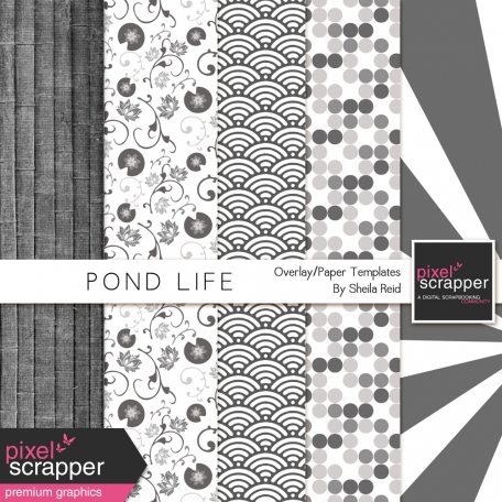 Pond Life Overlay/Paper Templates Kit