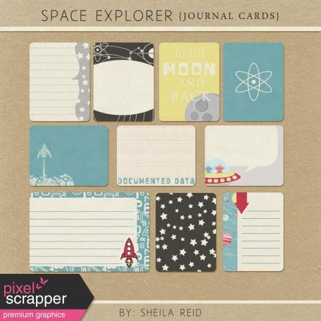 Space Explorer Journal Cards Kit