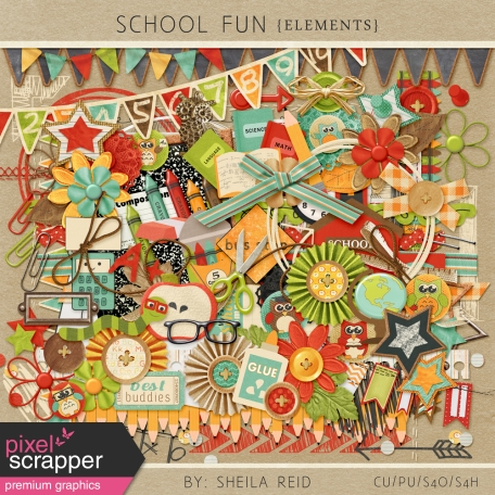 School Fun Elements Kit
