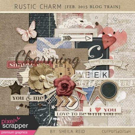 Rustic Charm February 2015 Blog Train Mini Kit
