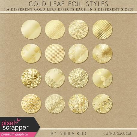 Gold Leaf Foil Styles
