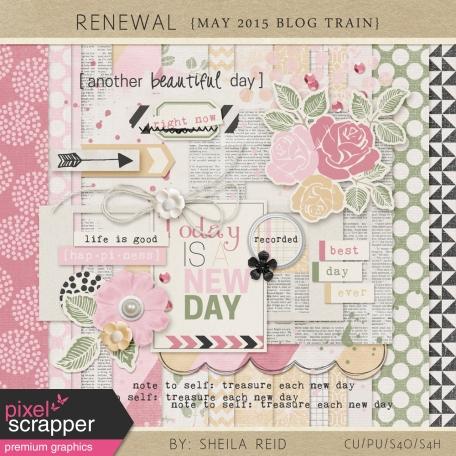 Renewal May 2015 Blog Train Mini Kit
