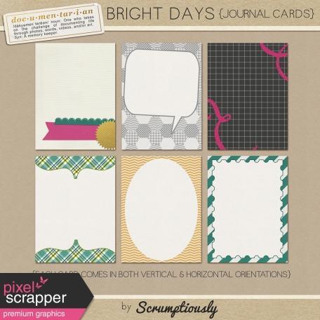 Bright Days Journal Card Kit