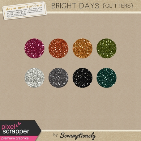 Bright Days Glitter Styles Kit
