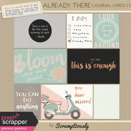 Already There Journal Cards 2