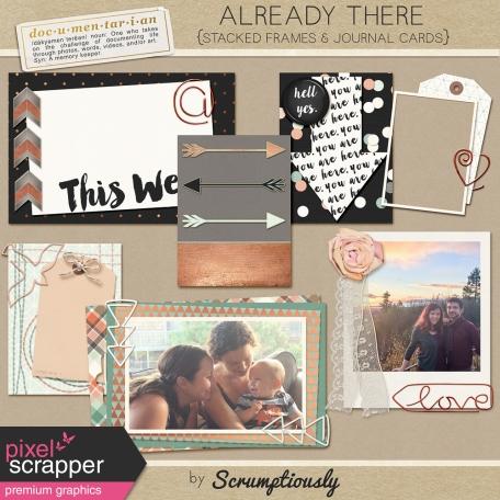 Already There Stacked Journal Cards and Frames