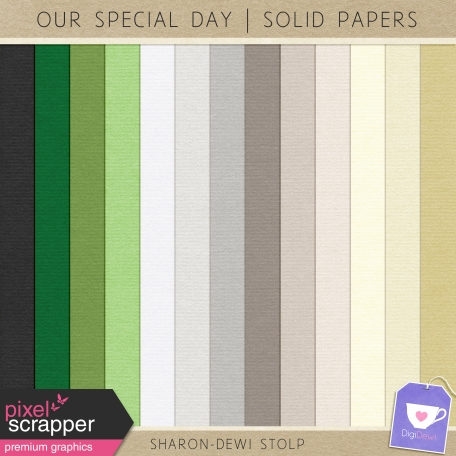 Our Special Day - Solid Papers