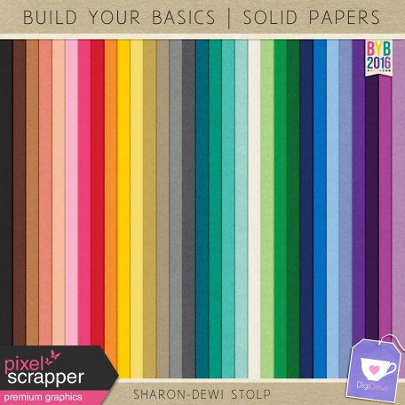 Build Your Basics 2016 - Solid Papers